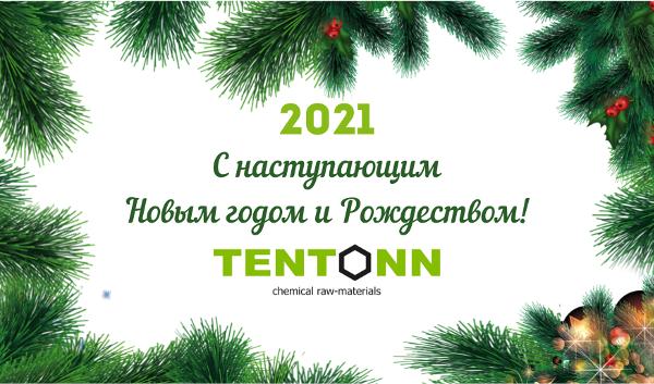 TENTONN поздравляет с наступающим Новым Годом и Рождеством!